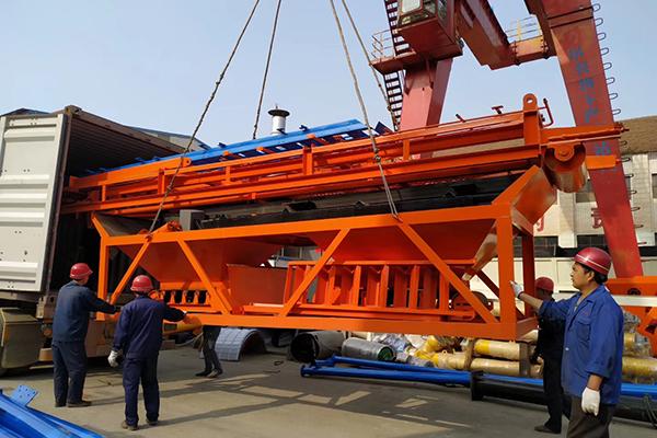 Camelway Maquinaria Producción va a establecer sucursal en Perú para vender planta de hormigón