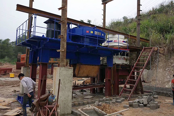 Planta de fabricación de arena en GanSu