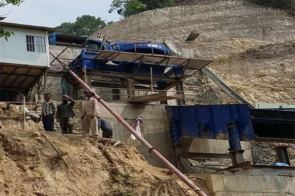 Planta de Fabricación de Arena en Nepal