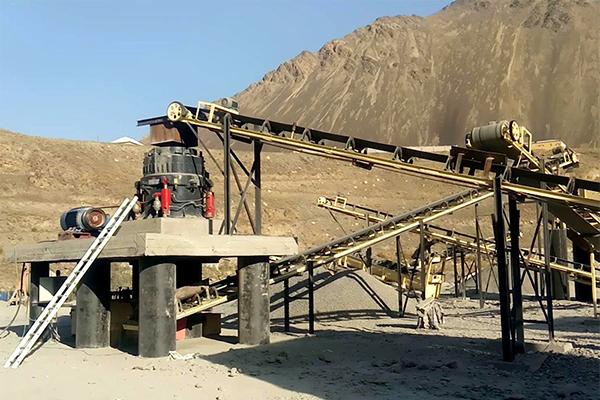 Producción de Trituración y Cribado de Mineral