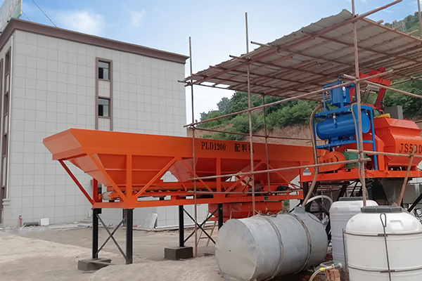 25m³ / h planta de concreto en venta en Perú