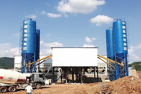 Planta de Hormigón Aplica en Proyecto de Construcción de Carreteras Shaanxi